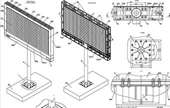 Проект и экспертное заключение на рекламные конструкции